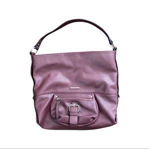 Dana Buchman boho large mauve purse